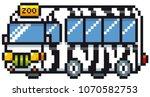 vector illustration of cartoon... | Shutterstock .eps vector #1070582753