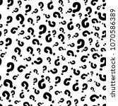 interrogation seamless pattern... | Shutterstock . vector #1070586389