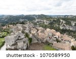 aerial view to medieval...   Shutterstock . vector #1070589950