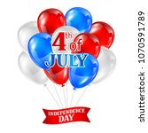 fourth of july independence day ... | Shutterstock .eps vector #1070591789