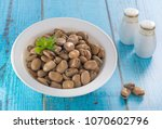 egyptian traditional breakfast... | Shutterstock . vector #1070602796