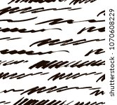 vector hand drawn striped... | Shutterstock .eps vector #1070608229