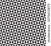 triangles seamless pattern... | Shutterstock .eps vector #1070615873