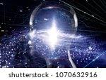 ai  artificial intelligence ... | Shutterstock . vector #1070632916