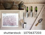 Garden Tools In A Small Storag...