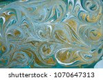 marble abstract acrylic... | Shutterstock . vector #1070647313