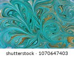 marble abstract acrylic... | Shutterstock . vector #1070647403