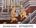 Details Of The Wall Paintings...