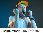 the anger and screaming man.... | Shutterstock . vector #1070714789