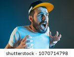 the anger and screaming man.... | Shutterstock . vector #1070714798
