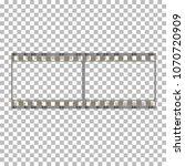 blank film frame stock... | Shutterstock .eps vector #1070720909