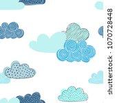 beautiful seamless pattern of... | Shutterstock .eps vector #1070728448