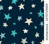 vector kids pattern with doodle ...   Shutterstock .eps vector #1070729009