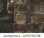 old brick well 4 | Shutterstock . vector #1070735138