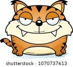 a cartoon illustration of a... | Shutterstock .eps vector #1070737613