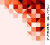 red tiled background | Shutterstock .eps vector #107074430