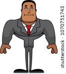 a cartoon businessperson... | Shutterstock .eps vector #1070751743