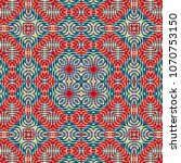 color engraving pattern.... | Shutterstock .eps vector #1070753150