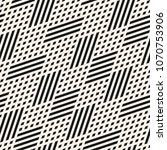 vector geometric lines seamless ... | Shutterstock .eps vector #1070753906