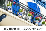 st jean de luz  france   29...   Shutterstock . vector #1070754179