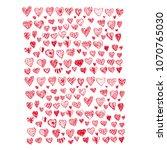 heart icon vector illustration | Shutterstock .eps vector #1070765030