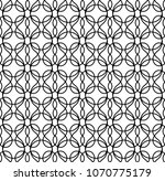 geometric pattern from the grid ... | Shutterstock .eps vector #1070775179
