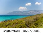 the mediterranean sea and the...   Shutterstock . vector #1070778008