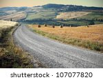 Country Road In Tuscany  Italy