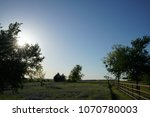 view of a pasture along the... | Shutterstock . vector #1070780003