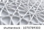 abstract white arabic girih... | Shutterstock . vector #1070789303
