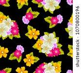 beautiful seamless pattern of... | Shutterstock .eps vector #1070800196