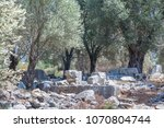 stones of ancient times on the...   Shutterstock . vector #1070804744