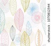 fashionable seamless pattern...   Shutterstock . vector #1070812544