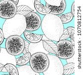 trendy seamless pattern with...   Shutterstock . vector #1070812754