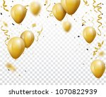 celebration background with... | Shutterstock .eps vector #1070822939