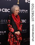 Small photo of TORONTO, ONTARIO, CANADA - MARCH 11, 2018: Margaret Atwood at Canadian Screen Awards.