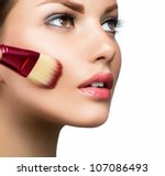 makeup. cosmetic. base for... | Shutterstock . vector #107086493