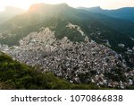 view of rocinha  largest favela ... | Shutterstock . vector #1070866838