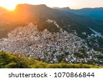 view of rocinha  the largest... | Shutterstock . vector #1070866844