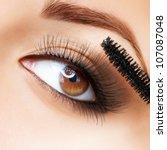 ������, ������: Makeup Make up Applying Mascara