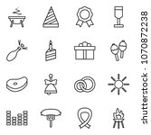 flat vector icon set   witch... | Shutterstock .eps vector #1070872238