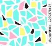 Mosaic Memphis Style Geometric...