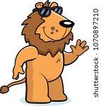 a cartoon illustration of a... | Shutterstock .eps vector #1070897210