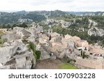 aerial view to medieval...   Shutterstock . vector #1070903228