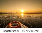 Sunset In The Danube Delta...