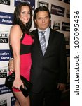 Small photo of Maribel Montalvo and Damian Chapa at the Los Angeles Premiere of 'Mexican Gangster'. Million Dollar Theater, Los Angeles, CA. 11-21-08
