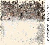 brick wall. grunge background   Shutterstock . vector #1070971403