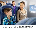 travel  tourism and family... | Shutterstock . vector #1070977136