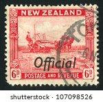 new zealand   circa 1935  stamp ...   Shutterstock . vector #107098526