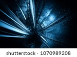 3d rendering of technology... | Shutterstock . vector #1070989208